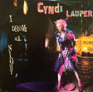 "Cyndi Lauper - I Drove All Night (12"") (G+/F+)"